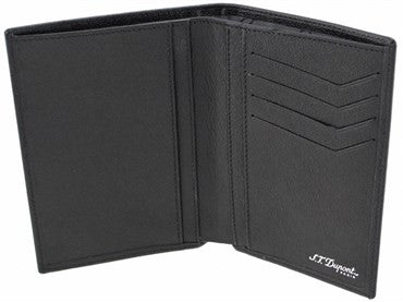 thumbnail image of ST Dupont Black Leather Defi Wallet 086602