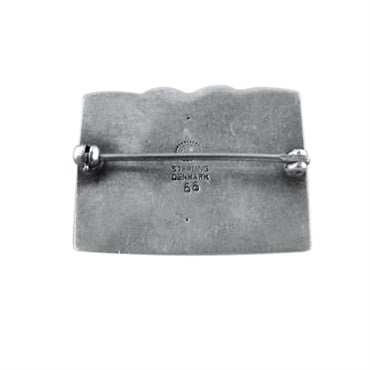 thumbnail image of Georg Jensen Sterling Silver Brooch Pin 66