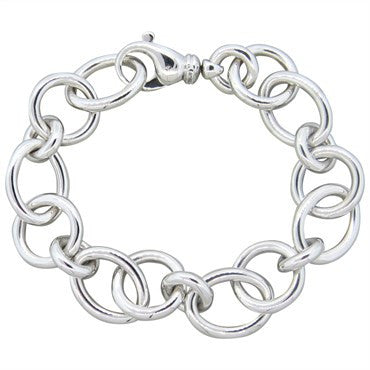 image of Tiffany & Co Gold Link Chain Bracelet