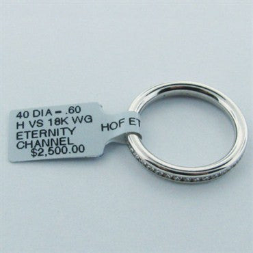 thumbnail image of Hearts On Fire Gold .60ct Diamond Eternity Ring Band