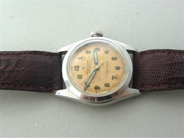 thumbnail image of 1940s Rolex Speedking Chronometer Watch Ref 4220
