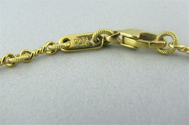 thumbnail image of Tiffany & Co 18K Gold Chain Necklace