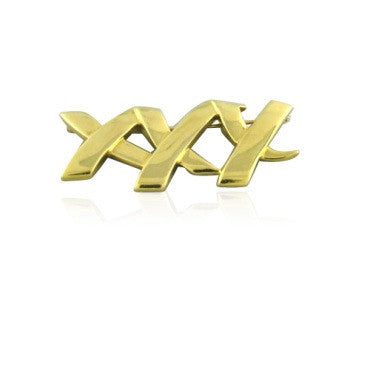 image of Tiffany & Co Paloma Picasso 18k Gold Brooch Pin