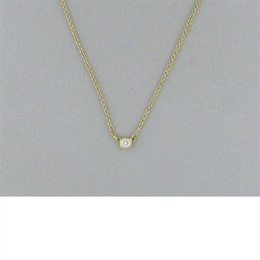 image of Tiffany & Co Elsa Peretti Diamonds By The Yard Necklace