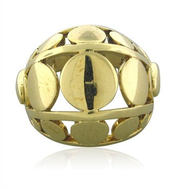 thumbnail image of John Hardy Dots Collection 18K Yellow Gold Dome Ring