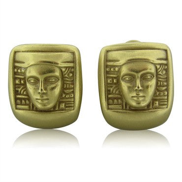 image of Kieselstein Cord Women Of The World Collection Gold Earrings