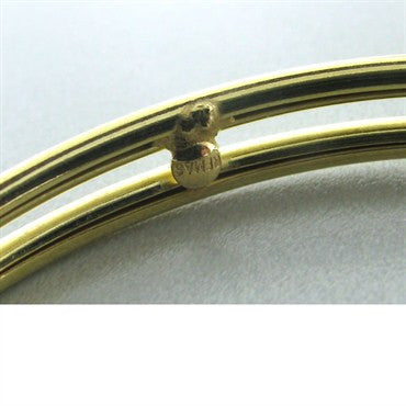thumbnail image of New Faraone Mennella 18k Gold Hoop Earrings