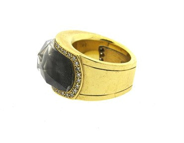 image of Stephen Webster Crystal Haze Diamond 18k Gold Ring