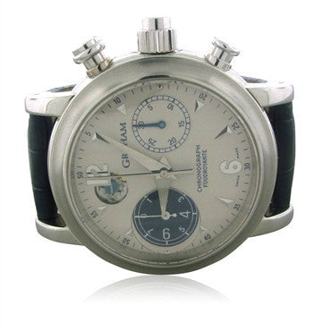 image of Graham Foudroyante Platinum Chronograph Mens Watch 2LIAS.S05A.C01B