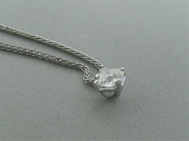 thumbnail image of New Hearts On Fire Dream Solitaire Diamond Pendant