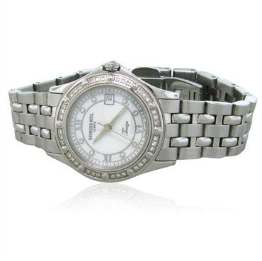 image of Raymond Weil Womens Tango Stainless Steel Diamond Watch 5390 ST 0095