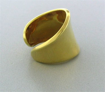 thumbnail image of Robert Lee Morris RLM Sterling Silver Vermeil Ring
