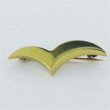 image of Estate Tiffany & Co 18k Gold Brooch Pin