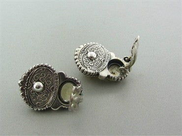 image of Stephen Dweck Sterling Silver Gemstone Earrings