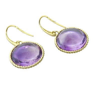 thumbnail image of Roberto Coin Ipanema Amethyst Earrings
