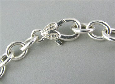 image of Judith Ripka Sterling Silver Chain Link Necklace