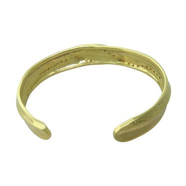 thumbnail image of Seidengang 18k Gold Diamond Cuff Bracelet