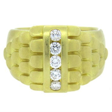thumbnail image of Elizabeth Rand Diamond Gold Ring