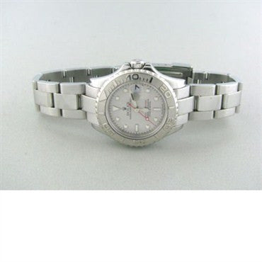 image of Rolex Yachtmaster Steel Platinum Ladies Watch 169622