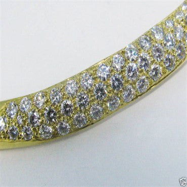 thumbnail image of Robert Lee Morris 18K Gold 2.80ct Diamond Necklace