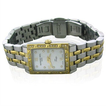 image of Raymond Weil Tango Diamond Mother Of Pearl Dial Ladies Watch