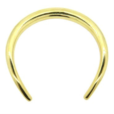 thumbnail image of Massive Georg Jensen 18k Gold Collar Necklace 206g 29 A