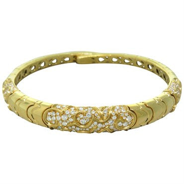 thumbnail image of Marina B Diamond Gold Collar Necklace
