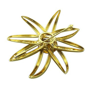 thumbnail image of Tiffany & Co Fireworks 18K Yellow Gold Citrine Brooch Pin