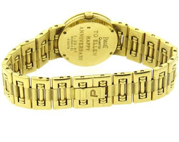 image of Piaget Lady's Yellow Gold Diamond Mother of Pearl Dial Dancer Quartz W