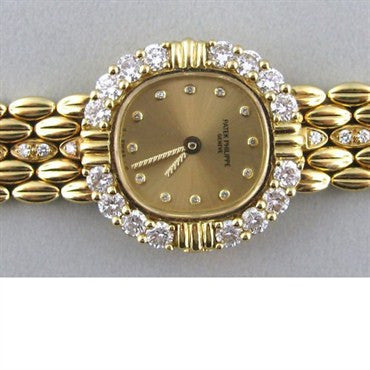 thumbnail image of Patek Philippe 18k Gold Diamond Watch Bracelet 4774 2
