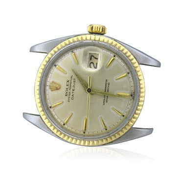 thumbnail image of Vintage 1961 Rolex Datejust Steel Gold Mens Watch Ref 1601