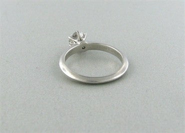 thumbnail image of Tiffany & Co F VS1 0.76ct Diamond Platinum Engagement Ring