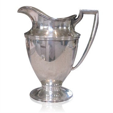 image of Antique Tiffany & Co Sterling Water Pitcher
