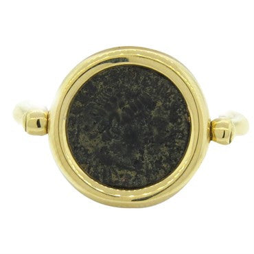 image of Bulgari Bvlgari Monete Gold Ancient Coin Ring
