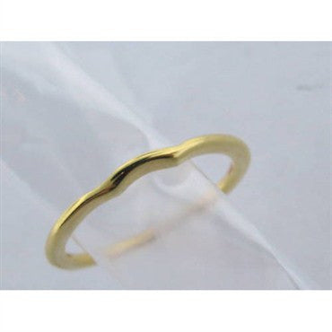 thumbnail image of Hearts On Fire 18k Gold Criss Cross Promise Band Ring