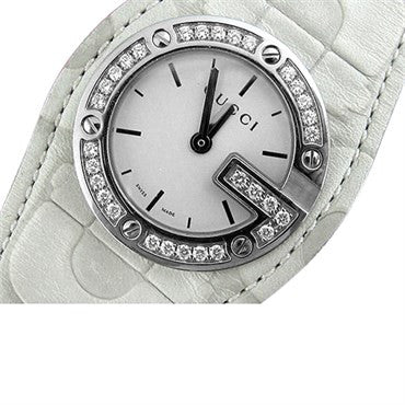 thumbnail image of Gucci Bandeau Diamond Ladies Watch Multiple Straps