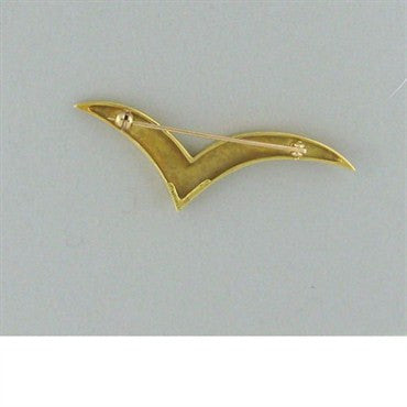 thumbnail image of Estate Tiffany & Co 18k Gold Brooch Pin
