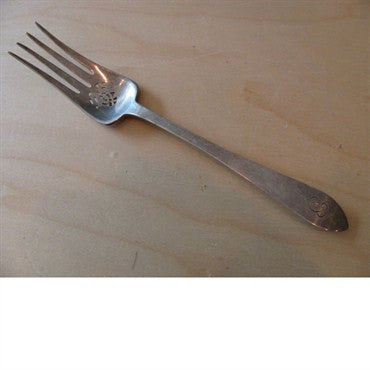 thumbnail image of Tiffany & Co Faneuil Sterling Cold Meat Serving Fork