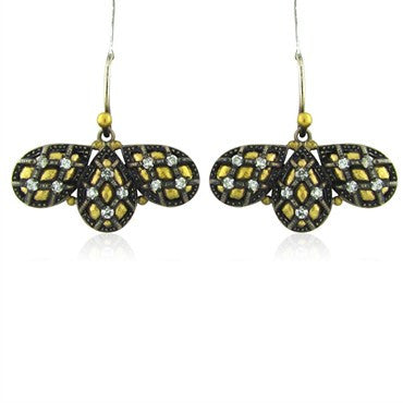 thumbnail image of New Gurhan Capitone Collection 24K Yellow Gold Diamond Earrings