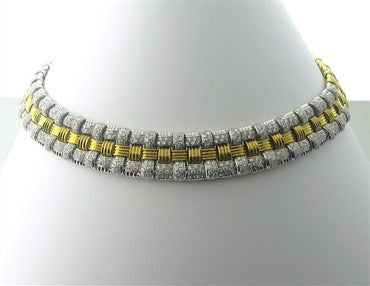 thumbnail image of Roberto Coin 18K Gold 2.75ctw Diamond Appassionata Necklace