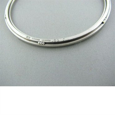thumbnail image of Georg Jensen Sterling Silver Bangle Bracelet 51 C