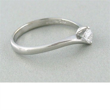 image of New Hearts On Fire Bridal Twist Diamond Engagement Ring