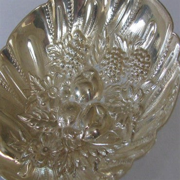 thumbnail image of Estate Kirk Repousse Sterling Berry Casserole Spoon