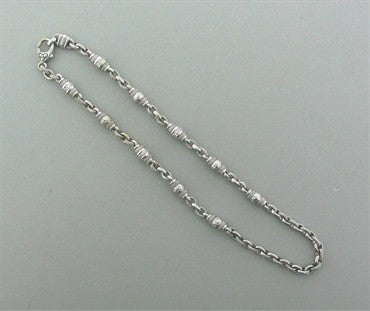thumbnail image of Judith Ripka 18K White Gold Diamond Chain Necklace