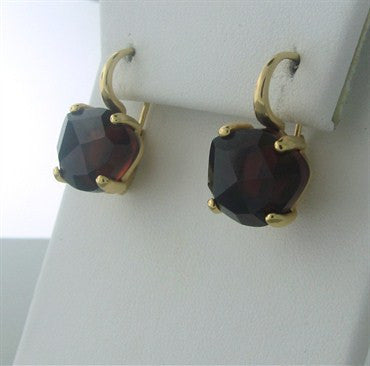 thumbnail image of Pomellato Lola 18K Gold Garnet Earrings