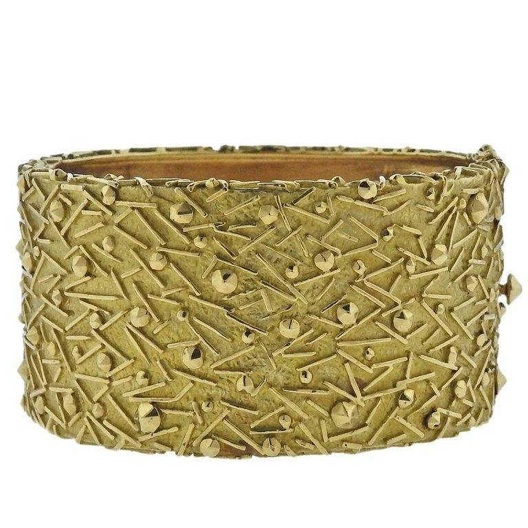 thumbnail image of 1970s Tiffany & Co. Gold Bangle Bracelet