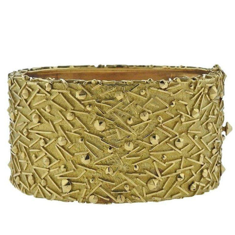 image of 1970s Tiffany & Co. Gold Bangle Bracelet