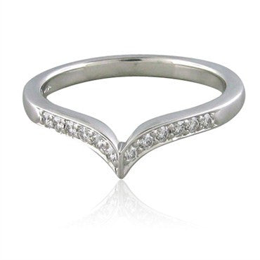 thumbnail image of Hearts On Fire Felicity Pointed Diamond Band Ring