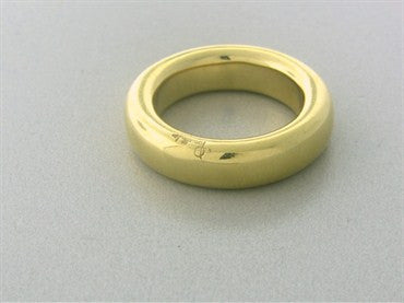thumbnail image of Pomellato Schiava 18K Yellow Gold 6mm Band Ring