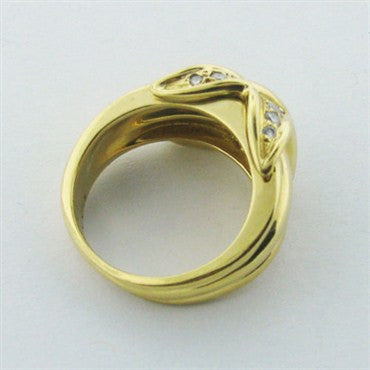 image of Estate Tiffany & Co. Signature 18k Gold Diamond Ring